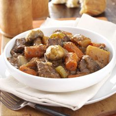 Gone-All-Day Stew Recipe from Taste of Home -- shared by Patricia Kile of Elizabethtown, Pennsylvania