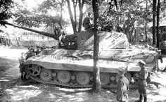 Captured Tiger II tank with zimmerit of the Schwere Panzer-Abteilung Tank number 1944 Tiger Ii, General Motors, Tank Wallpaper, Tiger Tank, Tank Destroyer, Armored Fighting Vehicle, Ww2 Tanks, Battle Tank, World Of Tanks
