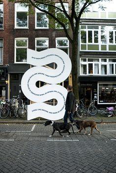 Studio Spass for Wereld van Witte de With in Rotterdam (via http://itsnicethat.com)