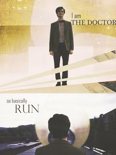 That's the moment I knew I was in love with a man called The Doctor