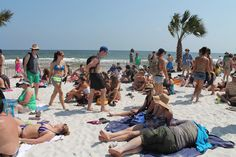 Great bands, white sand beaches - we're having loads of fun at the Hangout Music Festival in Gulf Shores! www.gulfshores.com