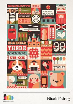 Nicola Meiring www.folioart.co.uk/illustration/folio/artists/illustrator/nicola-meiring - Agency: www.folioart.co.uk - #illustration #art #vector #objects