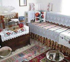 "Interior of a Turkish ""oda"" (room)."