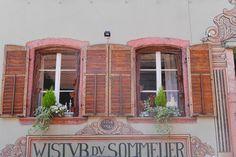 Ausflugsziel Bergheim im Elsass, Restaurant: Wistub du Sommelier, Bergheim