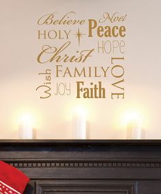 Look at this Spirit of Christmas Decal on #zulily today!
