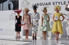 Jaguar Style Stakes 2015 Dubai World Cup. #racingfashion.com.au Dubai World, Jaguar, World Cup, What To Wear, Jackets, Style, Fashion, Down Jackets, Moda