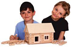 Dětské stavebnice domečky