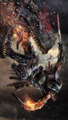 Dragonborn by uncannyknack.deviantart.com on @deviantART
