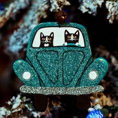 Teal VW Christmas Ornament | Flickr