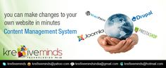 Kre8iveminds the one stop web solution ..  www.kre8iveminds.com