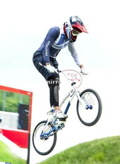 Great Britain's Shanaze Reade during the Women's BMX Seeding Run at the BMX Track in the Olympic Park, on the twelfth day of the London 2012 Olympics. Bmx Racing, August 8, Sporty Girls, Great Britain, Olympics, Cycling, Track, Bike, London