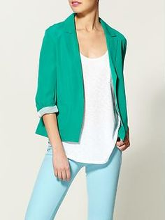 Pop Color Blazer by RD Style