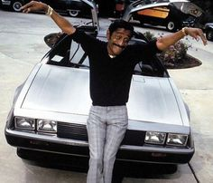 Delorean and Sammy Davis Jr.