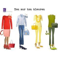 ton sur ton kledingcombinaties   Style Consulting
