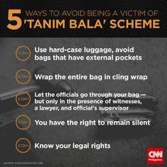 How to avoid falling prey to 'tanim bala' scheme Philippines Tourism, Airports, Travel Hacks, Seas, Let It Be, Fun, Hilarious