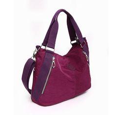 Women Nylon Waterproof Bags Outdoor Travel Shoulder Bags Light Crossbody  Bags Unique Handbags efaa055eb0be4
