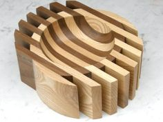 Woodturning Projects Bowls [Bandsaw the outside and turn the inside? Could also…