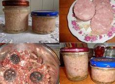 Tuszonka wieprzowa w słoiku. - przepis ze Smaker.pl Pork, Food And Drink, Meat, Polish Food Recipes, Canning, Kale Stir Fry, Pork Chops