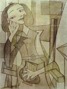 Nusch Eluard, Pablo Picasso,1938
