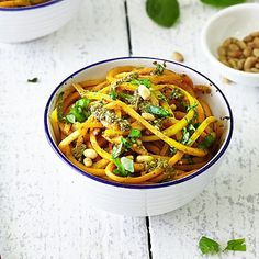 Butternut+Squash+Noodles+With+Fresh+Pesto - from Lakeland