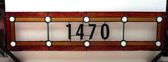 Traditional Stained Glass Transom TW12 by TerrazaStainedGlass, $375.00