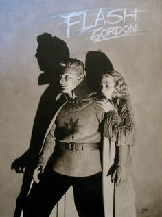 Flash Gordon and Dale Arden, a commission by Travis Charest.