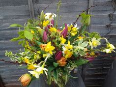 Large bouquet,  April