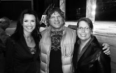 Paul Harris with CBS's Shannon Fox & Tripium's Molly Donohue