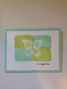 butterfly emboss