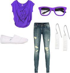 """Purple"" by begirl2799 on Polyvore"