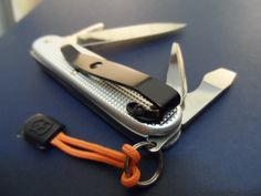 Victorinox Pioneer (Soldier) Alox Swiss Army Knife «Pocket Clip» - Custom Mod.
