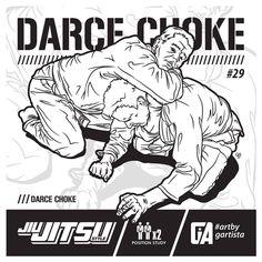 "292 Likes, 2 Comments - GARTISTA (@artbygartista) on Instagram: ""Darce Choke Position Study @bjjstyle - Issue 29 @artbygartista #jjstyle #darcechoke #jiujitsustyle…"""