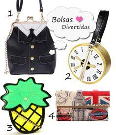 Onde Comprar Bolsas Online - Funny and Cool Bags  http://viroutendencia.com/2014/04/30/8-modelos-de-bolsas-divertidas-e-diferentes-para-comprar-online/