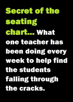 >> This teacher asks students to nominate who they want to sit next to for the next week, and looks for patterns in who's nominated and who isn't to determine what supports she needs to provide to help all students feel connected in the classroom. Classroom Organisation, Teacher Organization, Teacher Tools, Teacher Hacks, Teacher Resources, Teacher Stuff, Classroom Behavior, Future Classroom, School Classroom