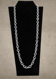 Large Link Chain Necklace 18""