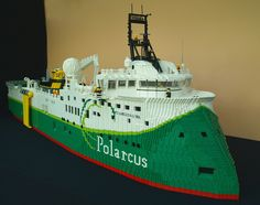 Polarcus Alima complete 2 by Lego Monster, via Flickr