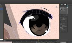 3d 3ds max anime eyelashes