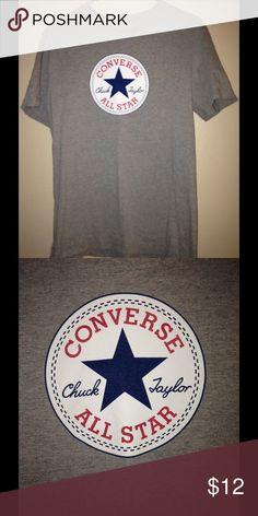 Converse t shirt Small converse t shirt fits well Converse Tops Tees - Short Sleeve
