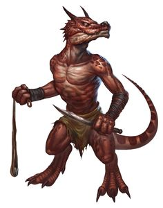 Kobold (from the D&D fifth edition Monster Manual). Art by Conceptopolis.