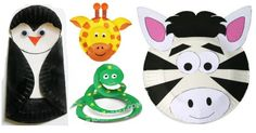 22 Paper Plate Animals