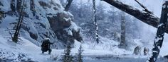 ArtStation - The Wild White Alexandre Pinto Artworks, Hunting, Concept, Artist, Outdoor, Outdoors, Art Pieces, Deer Hunting, The Great Outdoors