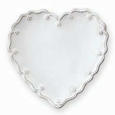Juliska Berry & Thread Heart Canape Plates, Set of 4 - Dining & Entertaining - Home - Bloomingdale's