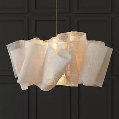 Modern Lighting Design, Luxury Lighting, Cool Lighting, Lantern Pendant, Pendant Lighting, Modern Pendant Light, Colored Weave, Fabric Structure, Paper Light