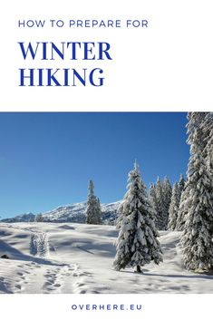 Winter hiking: safety guide- Learn our top winter hiking tips to keep you warm and safe on cold and snowy trails. This hiking guide includes advice on layering, snacks, staying hydrated & more. Utah Vacation, Vacation Trips, Vacation Ideas, Hiking Essentials, Hiking Guide, Hiking Photography, Winter Hiking, Day Hike, Best Vacations