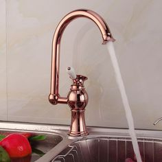 Cheap tap out, Buy Quality faucet mixer tap directly from China mixer tap Suppliers: Antique copper kitchen faucet pull out red, Brass kitchen sink basin faucet hot and cold, Rotated dish basin faucet mixer tap Copper Kitchen Faucets, Cheap Kitchen Faucets, Kitchen Fixtures, Kitchen Hardware, Kitchen Sinks, Kitchen Cabinets, Vintage Interior Design, Antique Interior, Interior Design Kitchen