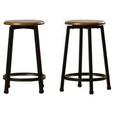 Save on Woodside 24 Bar Stool (Set of by Trent Austin Design Swivel Counter Stools, Bar Stool Chairs, Counter Height Bar Stools, 24 Bar Stools, Kitchen Stools, Dining Chairs, Kitchen Island, Kitchen Flooring, Backless Bar Stools