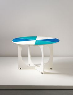 PHILLIPS : UK050214, Gio Ponti, Drop-leaf table, from the 'APTA' series