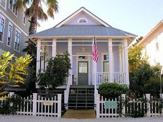Frederica Cottage  Location: St. Simons Island, Georgia  Cost per night: Starts at $375  Why we love it: This three-bedroom bungalow has a gorgeous dining table and breakfast bar inside, plus a beautifully renovated patio for al fresco meals.
