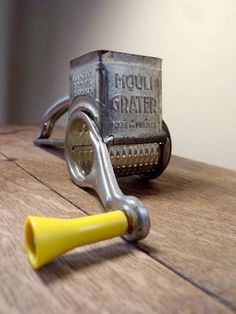 French Vintage:   The Mouli Grater
