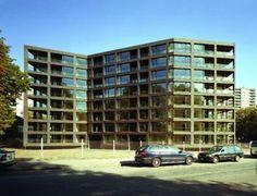Miller & Maranta - Schwarzpark social housing, Basel 2004. Via.